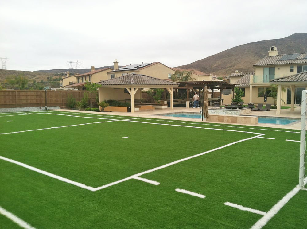 Home field - artificial turf