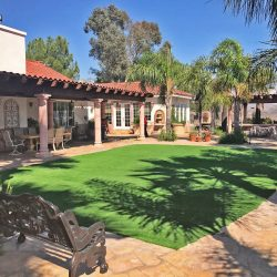 Frontyard artificial turf